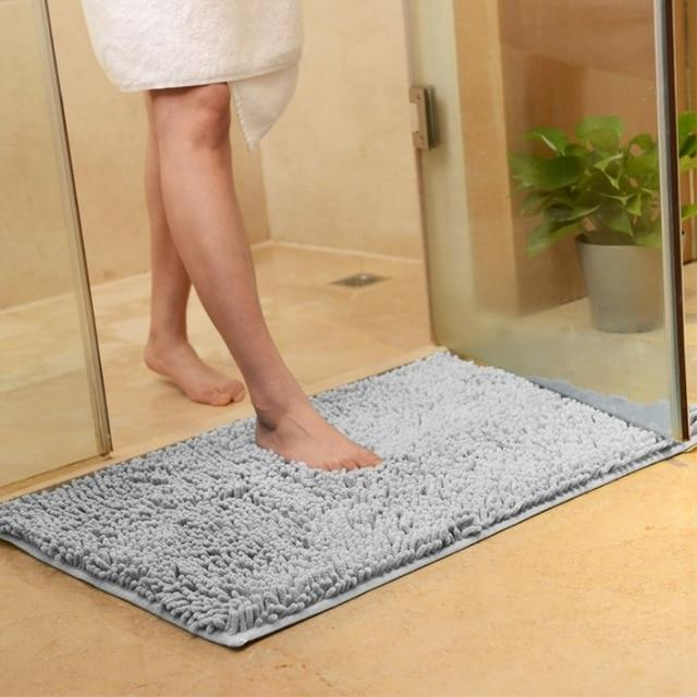 tapis salle de bain grande taille microfibre