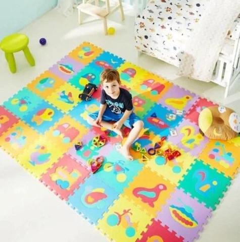 tapis chambre bebe joli tapis
