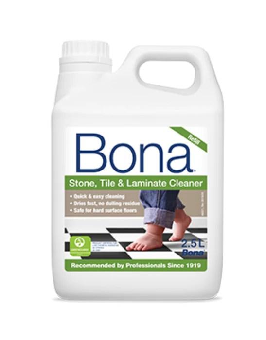 bona stone tile laminate cleaner 2 5l refill
