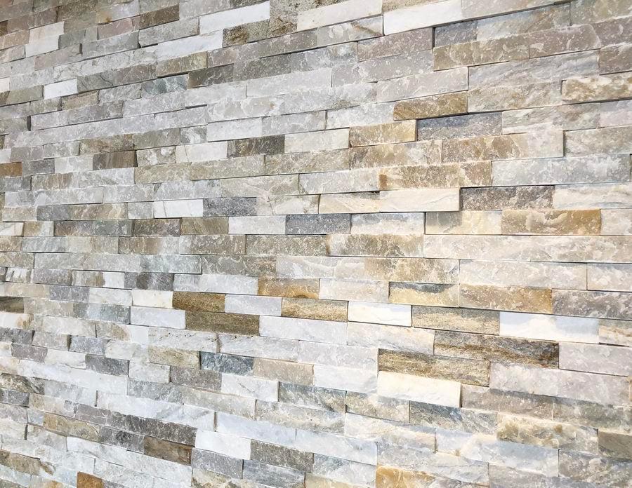 split face tiles oyster quartz cladding 550x150 31 39 m2