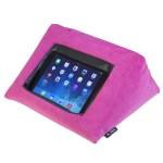 Icushion Ipad Cushion Pillow Stand Holder Velvet Pink Mangotree Ventures Ltd