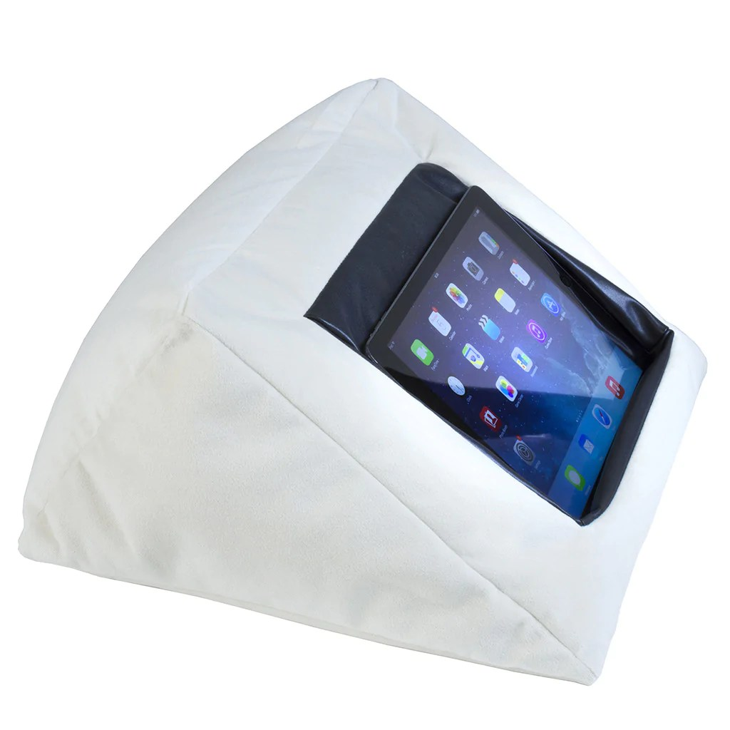 Ipad Bed Pillow Cushion Stand Holder For Your Ipad The Comfy Way To Sleep With Your Ipad Mangotree Ventures Ltd