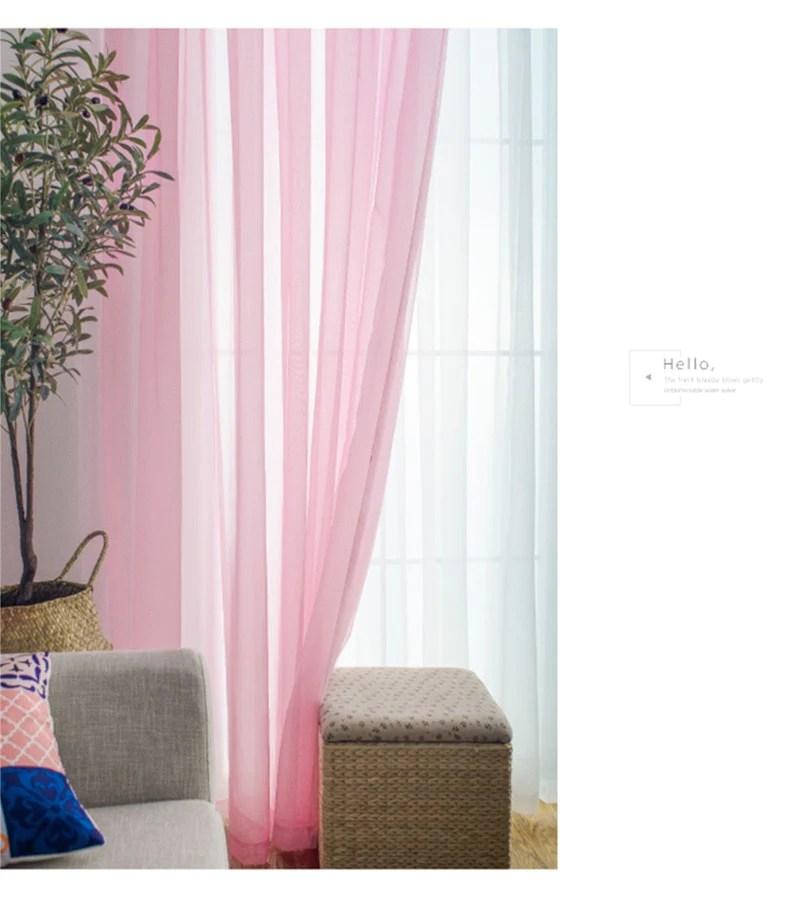 voilage rose rideau et voilage