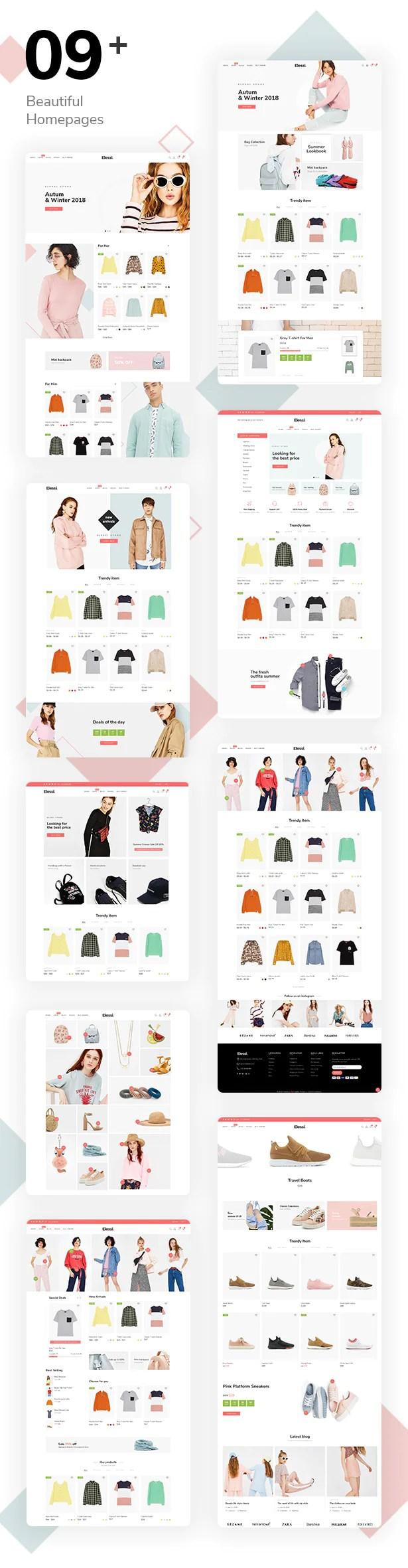 Elessi - Responsive Shopify Theme - 6