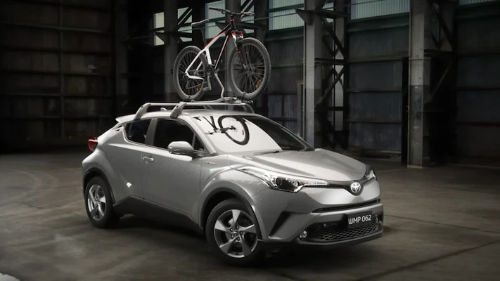 toyota c hr bicycle carrier