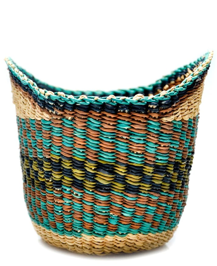 Winged Woven Basket