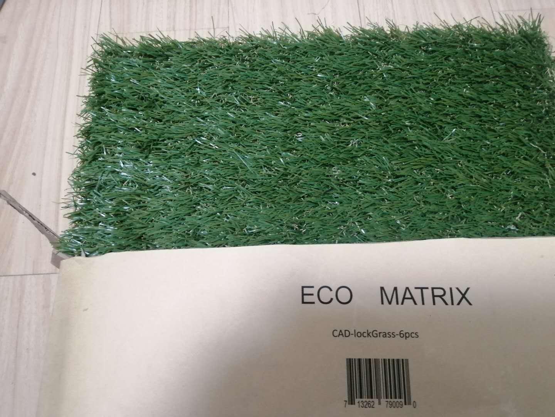 eco matrix artificial grass tiles