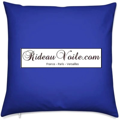 tissu ameublement velours bleu roi au metre decoration rideau tapisserie fauteuil siege