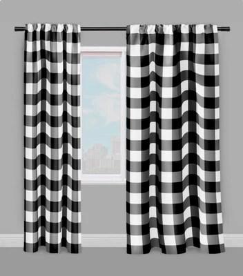 https rideauvoile com products carreaux vichy tissu metre carre noir blanc rideau couette coussin
