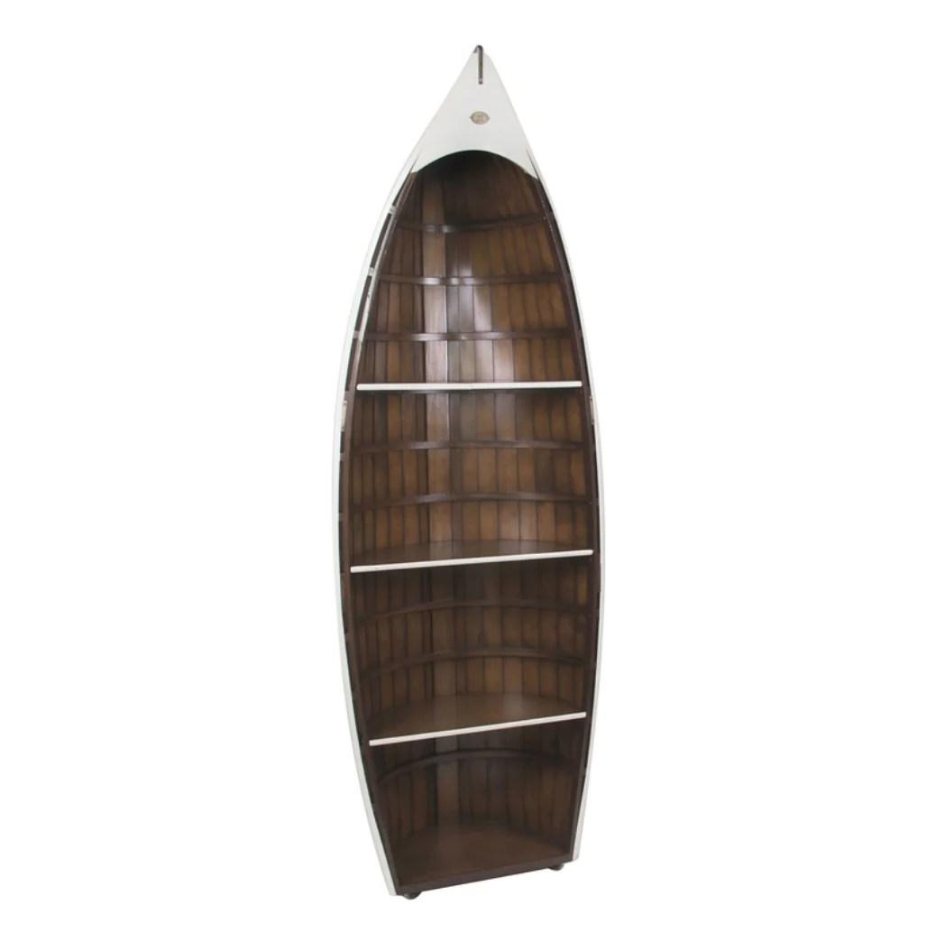 Authentic Models Bosun S Gig Nautical Rowboat Bookcase