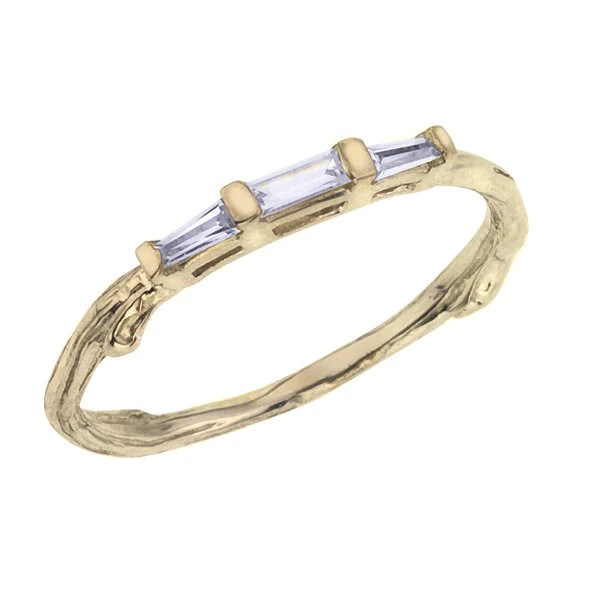 Diamond Baguette Wedding Band Barbara Michelle Jacobs