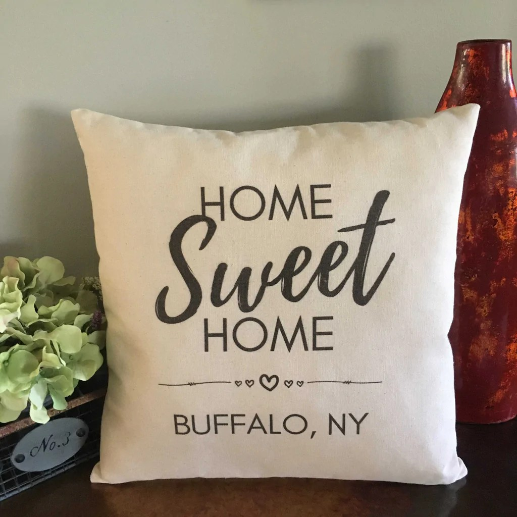 home sweet home city pillow pillows for keeps