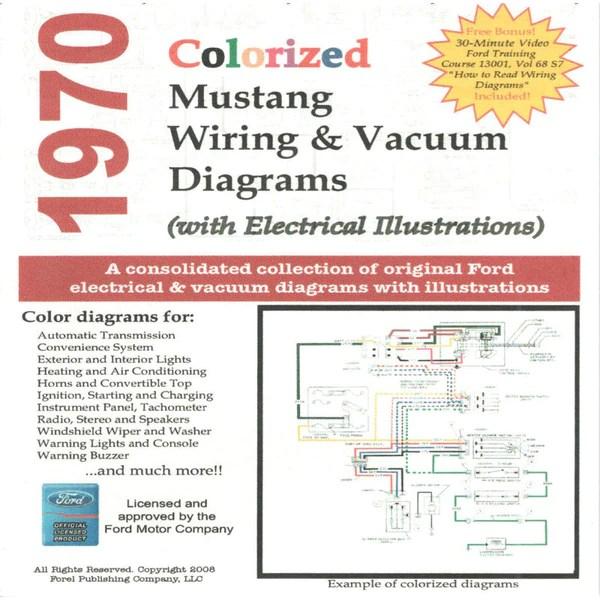 1970 mustang wiring  vacuum diagram cdrom
