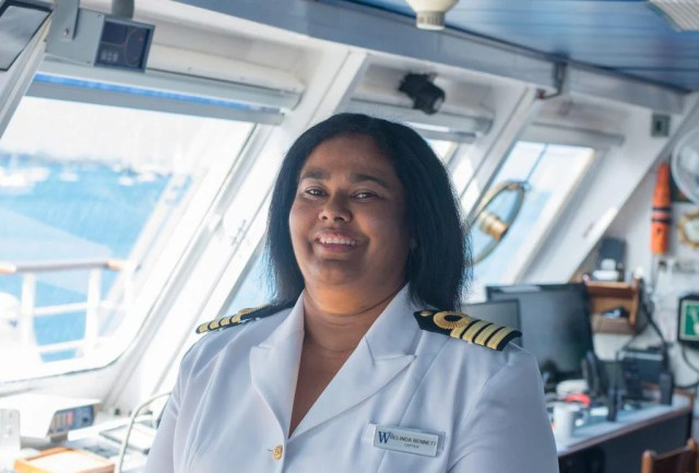 Belinda Bennett is Setting Sail as the World's First Black Woman Cruise Ship Captain
