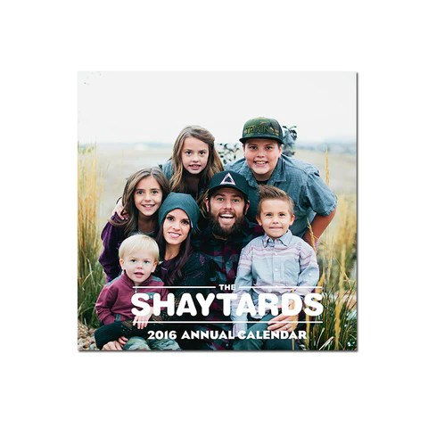 Shay Carl - Shaytards Calendar 2016