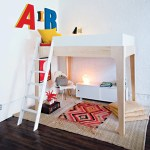 Perch Full Size Loft Bed For Kids Teens With Stairs By Oeuf Canada