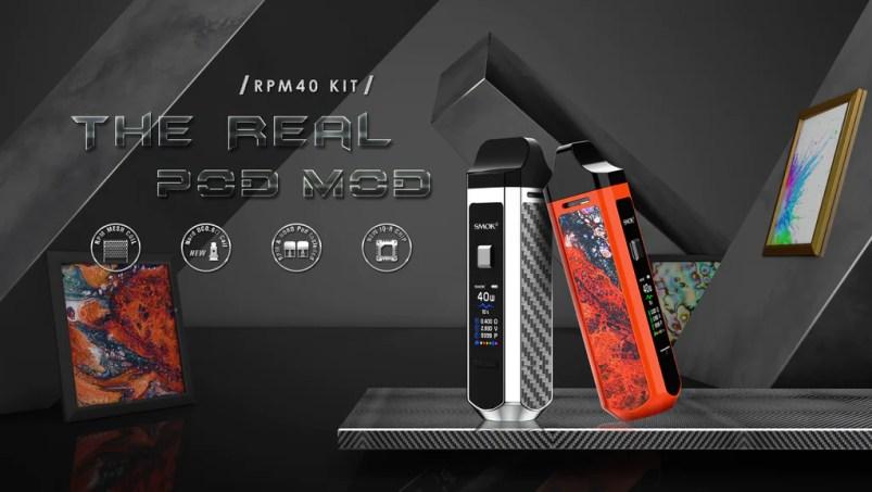 Smok RPM 40 Vape Pod System VW Starter Kit