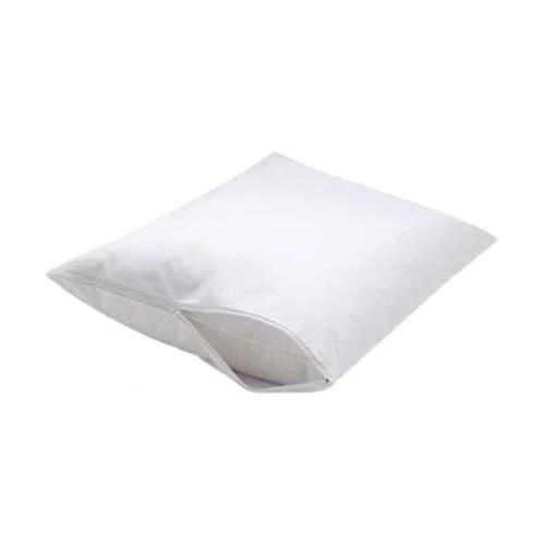 dry defender zippered vinyl pillow covers