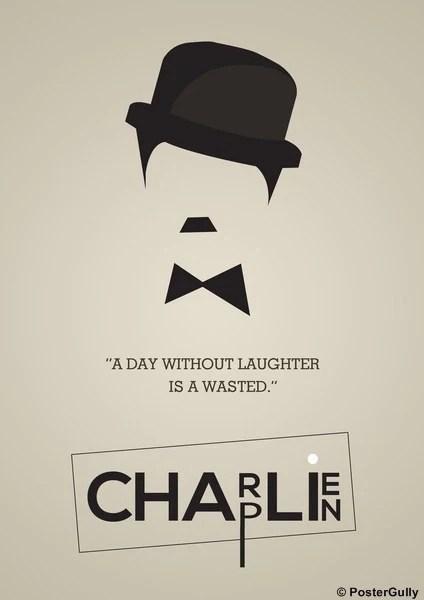 charlie chaplin minimal artwork