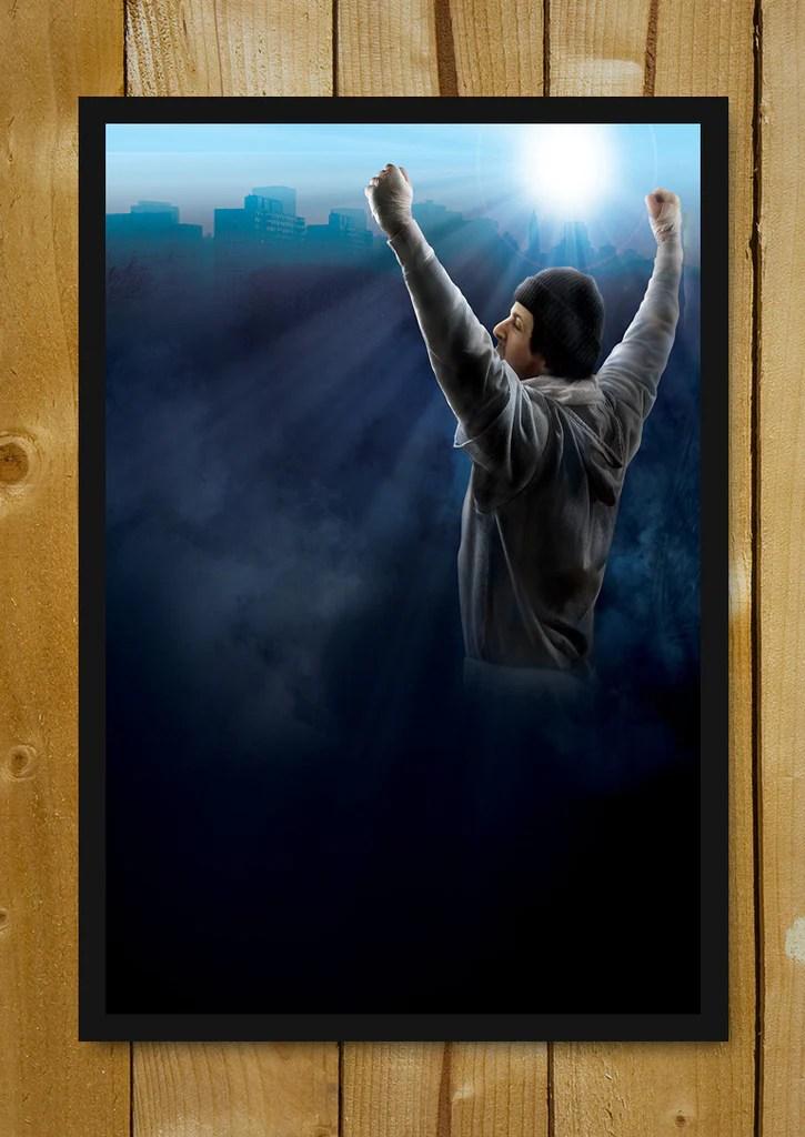 buy framed posters online shopping india rocky glass framed poster postergully