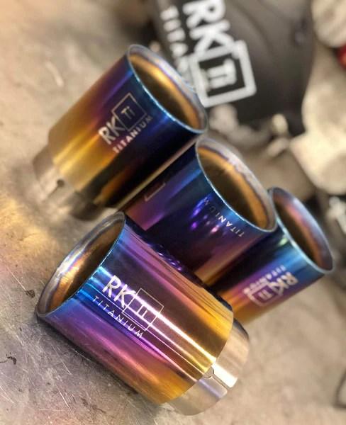 bmw f8x titanium exhaust tips