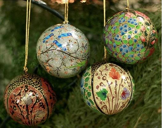 Guatemalan Christmas Ornaments