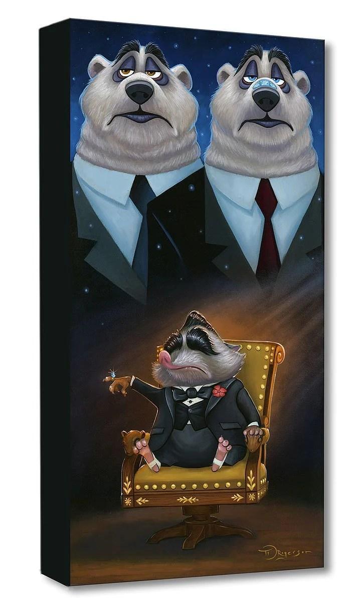 Mr Big Disney Treasures On Canvas By Tim Rogerson