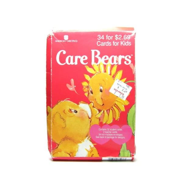 Care Bears Valentines 1995 Vintage Box Of 34 Valentines