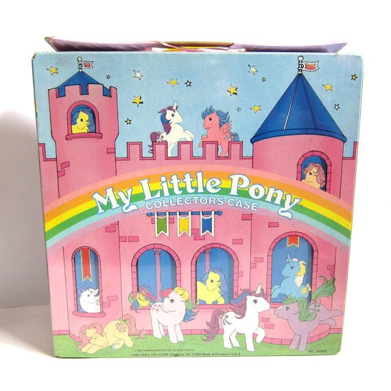 My Little Pony Collectors Case Accessories Storage Amp Carry