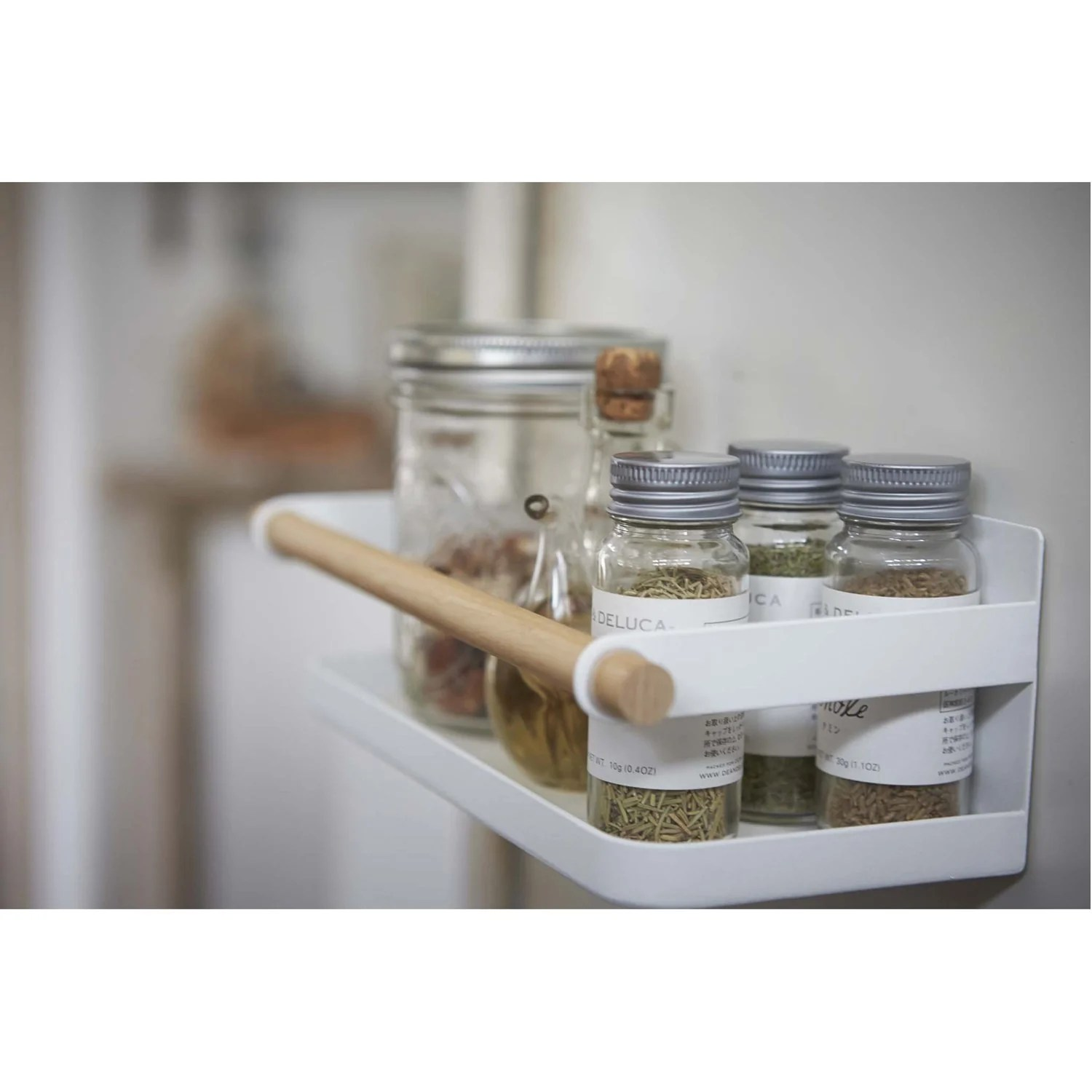 tosca magnet spice rack wood accent