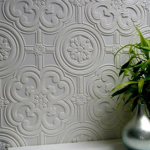 Shop Designer Wallpaper and Modern Wallpaper Designs   Burke Decor Egon Paintable Textured Wallpaper design by Brewster Home Fashions