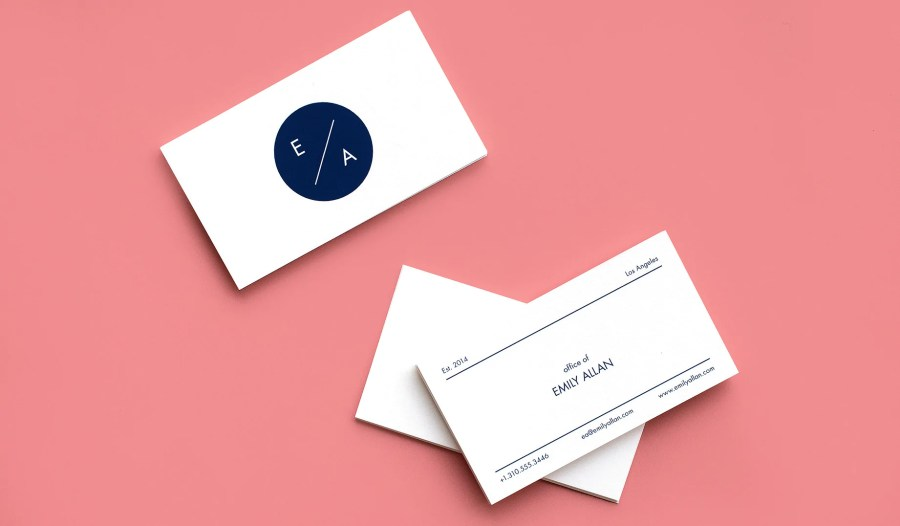 Themed Business Card Office Of     Paper Chase Press Choose from four formats for your business cards  the Traditional 2 x 3 5  inch size