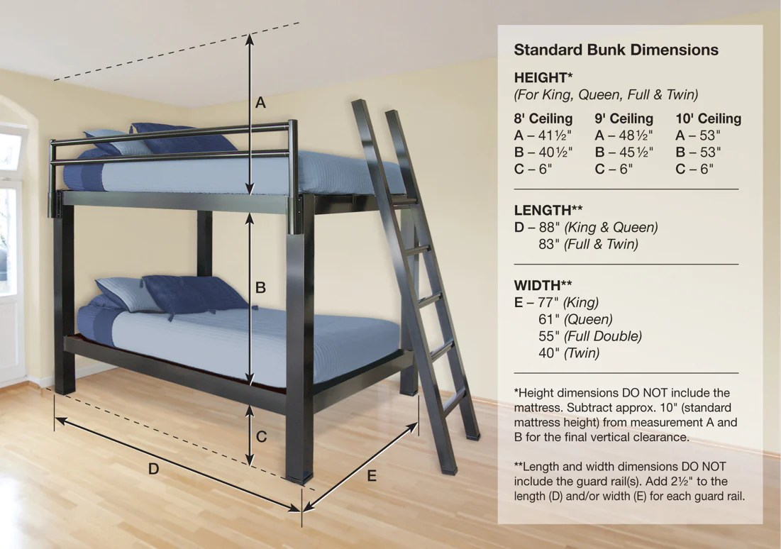 king over king bunk bed