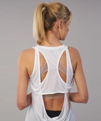 Gymshark Duplex Vest - White 1