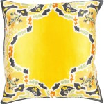 Surya Blowout Sale Up To 70 Off Ge004 1818d Geisha Throw Pillow Yellow Black Only Only 95 40 At Contemporary Furniture Warehouse