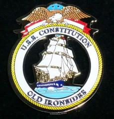 USS Constitution Seal Medallion