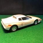 Ferrari Testarossa White Flywheel Motor By Road Champs 1 20 No Box Albaco Collectibles