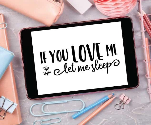 Download Funny Love Quote File to Print, Let Me Sleep Shirt Design ...