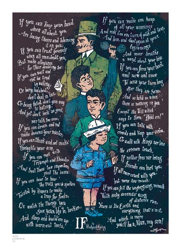 IF Rudyard Kipling Posters Wwwposteramaco