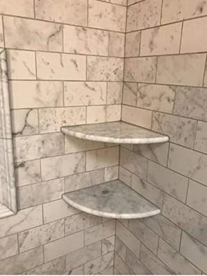 premium quality italian carrara marble corner shelf polished 9 free shipping