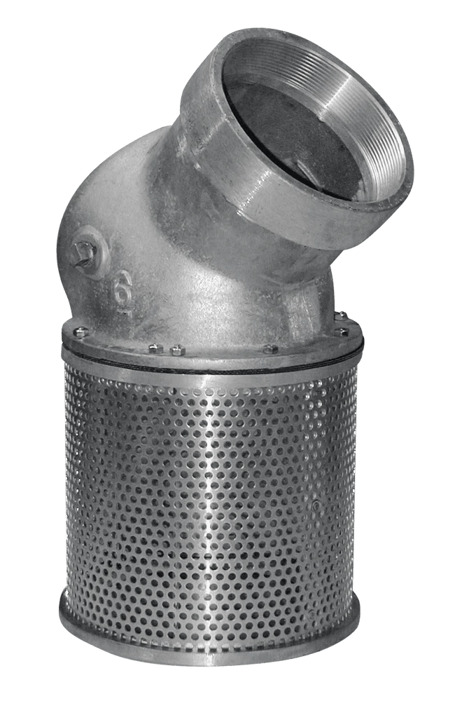 Since foot valves are continually submerged in the wet well and not readily accessible for inspection or repair, it is important to select a foot valve of high quality long wearing construction. Sure Flo - 4'' Foot Valve 45 Degree Female Thread SFV4-FP ...