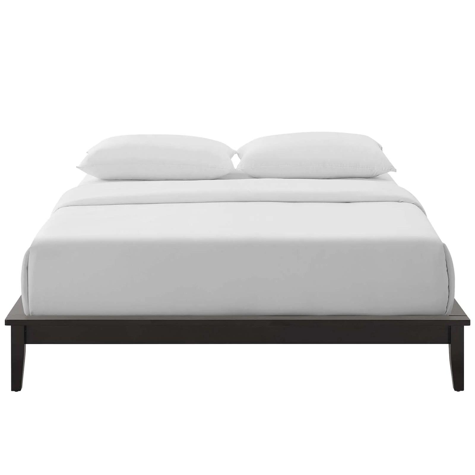 Lodge Full Size Wood Platform Bed Online Interior Design Store And Service Provider