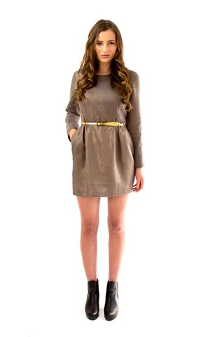 Sigma dress from Papercut Patterns