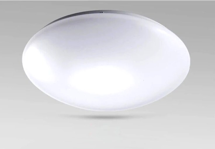 24W LED Surface Mount Ceiling Light Fixture  Mushroom Style EC     24W LED Surface Mount Ceiling Light Fixture  Mushroom Style EC SDL24RD 6000