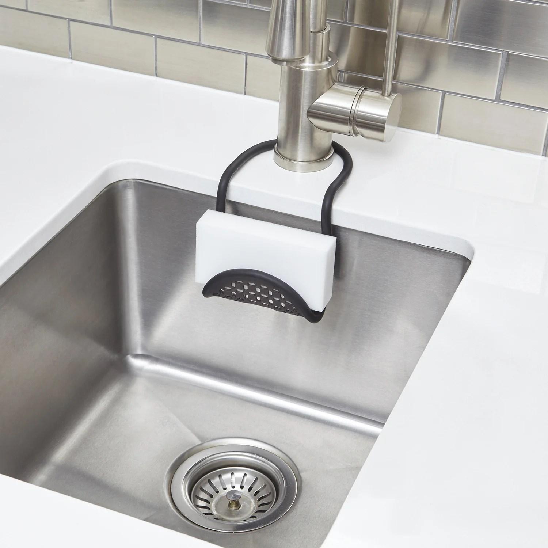 sling flexible sink sponge caddy