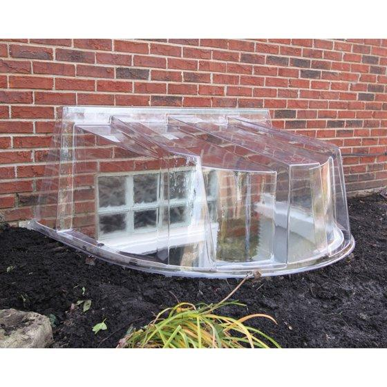Window Well Cover Wellcraft 5600 Polycarbonate Dome Egress Mainline Materials