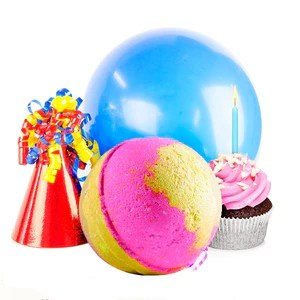Birthday Cake | Single Toy Surprise Bath Bomb®-Single Toy Bath Bomb-The Official Website of Jewelry Candles - Find Jewelry In Candles!