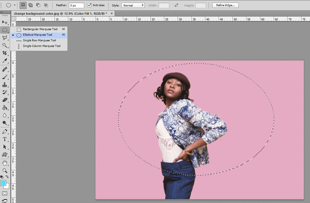 How to Change Background Color in Photoshop     Pretty Photoshop Actions how to change color in photoshop