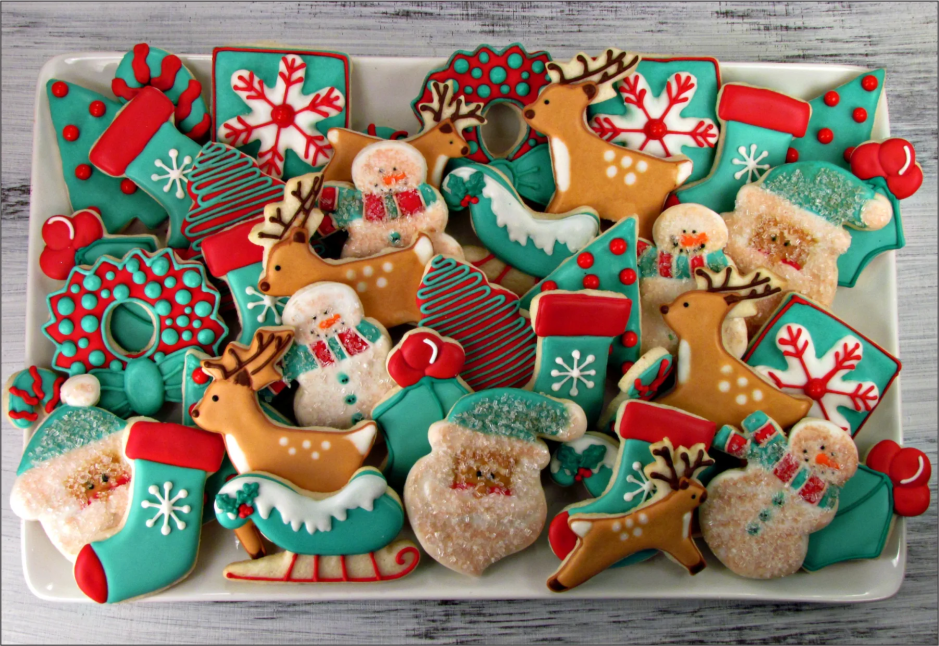 Christmas Cookie Column Trophy On Marble | Schoppy's Since 1921