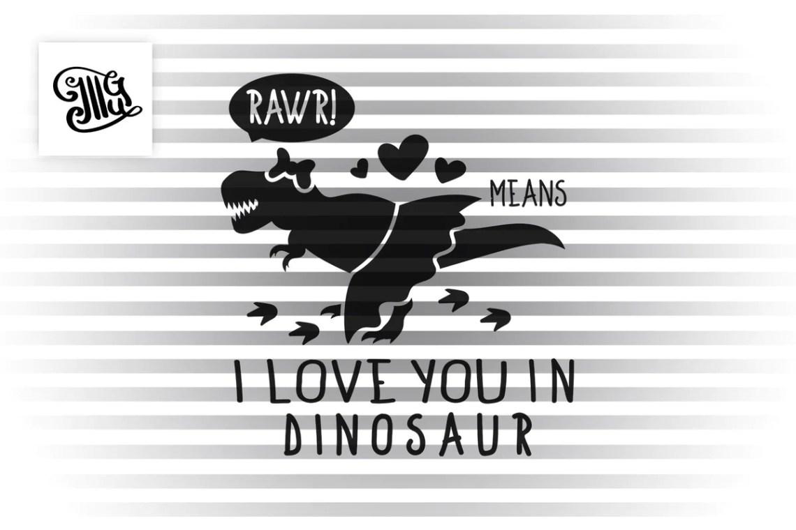 Download Rawr means I love you in dinosaur svg, girl dinosaur svg ...